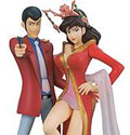 Lupin the Third PS2 Preorder Figures (New)