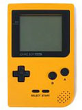 GameBoy Pocket (Yellow) with Carry Case