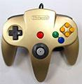 Nintendo 64 Controller (Gold) (Unboxed) - Nintendo
