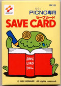 Picno Save Card (New) - Konami