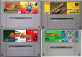 Super Famicom Football Cart Pack - Namcot