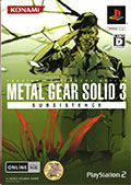 Metal Gear Solid 3 Subsistence - Konami