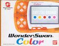 WonderSwan Color (Crystal Orange) (No Manual) - Bandai