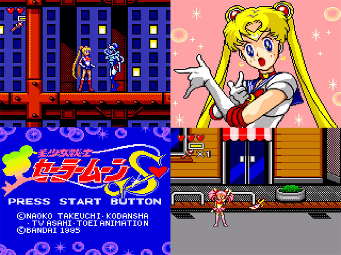 Sailor Moon S (New) from Bandai on Game Gear
