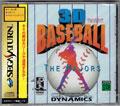 3D Baseball The Majors (New) - Crystal Dynamics