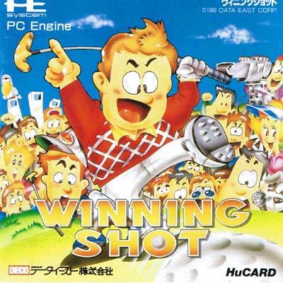 Winning Shot (New) from Data East - PC Engine Hu Card
