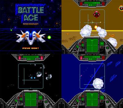 Battle Ace (Slip Case) from Hudson - PC Engine Super Grafx